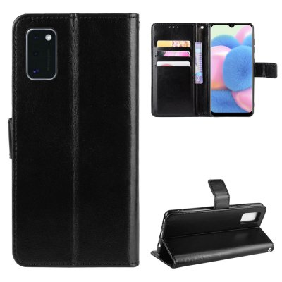 Etui Coque Samsung Galaxy A41 Protection Housse Portefeuille Livre Emplacement cartes , support dépliant Languette Magnétique