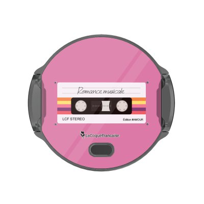 Support voiture avec charge à induction Cassette Vintage Romance La Coque Francaise