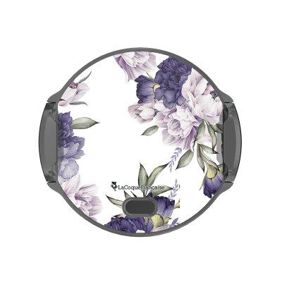 Support voiture avec charge à induction Pivoines Violettes La Coque Francaise