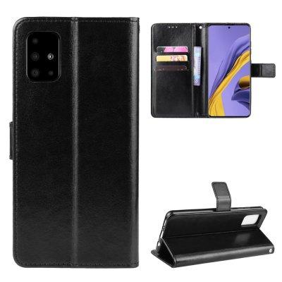 Etui Coque Samsung Galaxy A51 5G Protection Portefeuille Livre Emplacement cartes , support dépliant et Languette Magnétique
