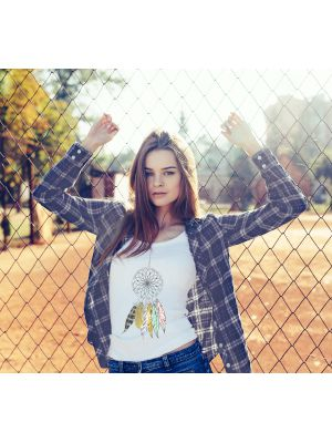 T-shirt Attrape Rêves Scandinave pour Taille S