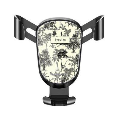 Support téléphone voiture Botanic Evasion Motif Ecriture Tendance La Coque Francaise