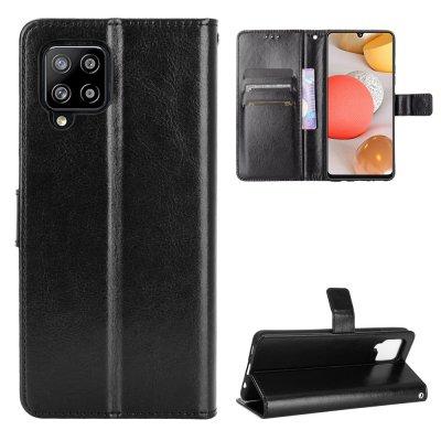 Etui Coque Samsung Galaxy A42 5G Protection Portefeuille Livre Emplacement cartes , support dépliant et Languette Magnétique