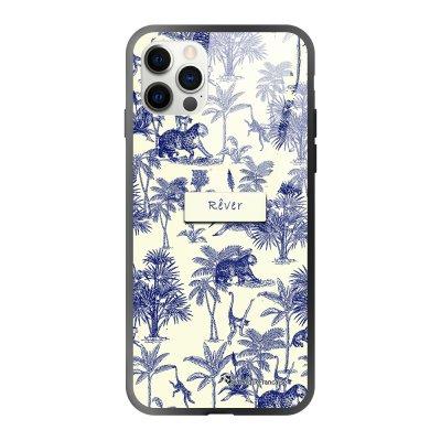 Coque iPhone 12/12 Pro soft touch effet glossy Botanic Rêve Design La Coque Francaise