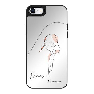 Coque iPhone 7/8/SE 2020 miroir La Rêveuse Design La Coque Francaise.