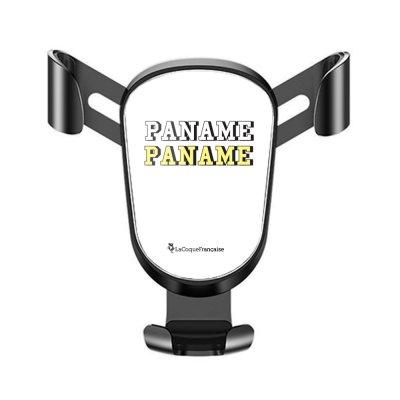 Support téléphone voiture Paname Motif Ecriture Tendance La Coque Francaise