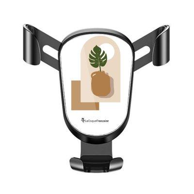 Support téléphone voiture Vase Terracotta Motif Ecriture Tendance La Coque Francaise
