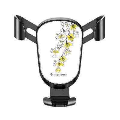 Support téléphone voiture Fleurs Cerisiers Motif Ecriture Tendance La Coque Francaise