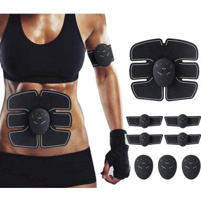 Electrostimulateur Musculaire,Ceinture Abdominale Electrostimulation pour Abdomen/Bras/Jambes
