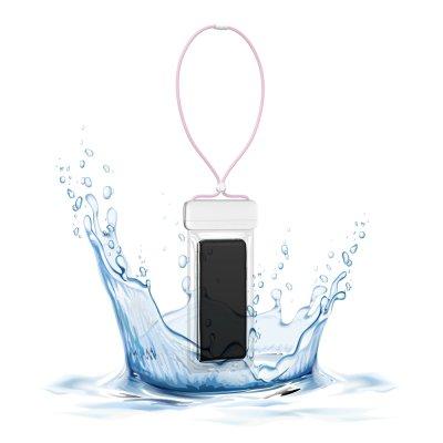 Pochette waterproof  IPX8 pour Smartphone jusqu'à 7,2 - rose