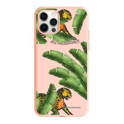 Coque iPhone 11 Pro Silicone Liquide Douce rose pâle Fleurs Aquarelles La Coque Francaise.