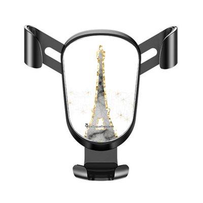 Support téléphone voiture Illumination de paris Motif Ecriture Tendance La Coque Francaise