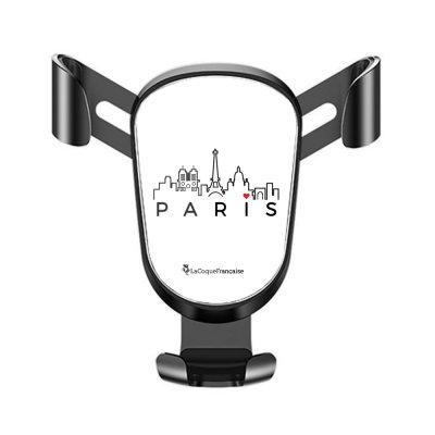 Support téléphone voiture Skyline Paris Motif Ecriture Tendance La Coque Francaise