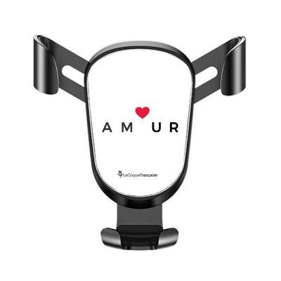 Support téléphone voiture Amour_coeur Motif Ecriture Tendance La Coque Francaise