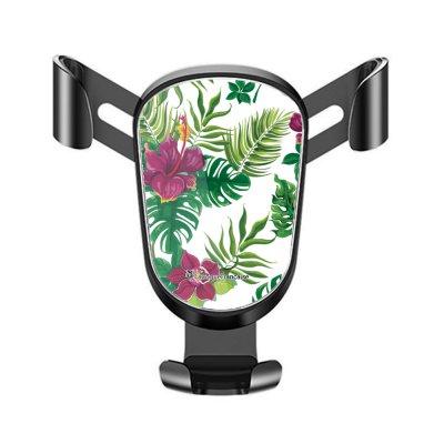 Support téléphone voiture Tropical Motif Ecriture Tendance La Coque Francaise