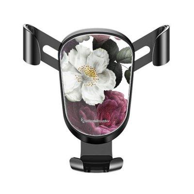 Support téléphone voiture Fleurs roses Motif Ecriture Tendance La Coque Francaise