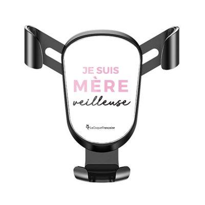 Support téléphone voiture Mère Veilleuse Motif Ecriture Tendance La Coque Francaise