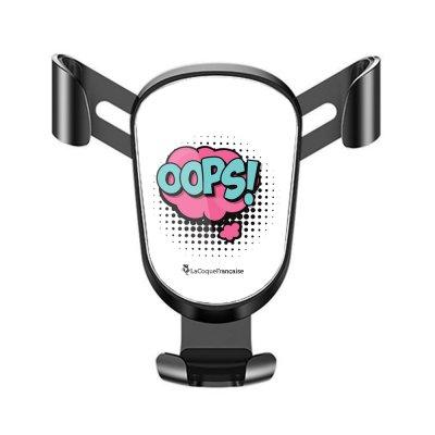 Support téléphone voiture OOPS Motif Ecriture Tendance La Coque Francaise
