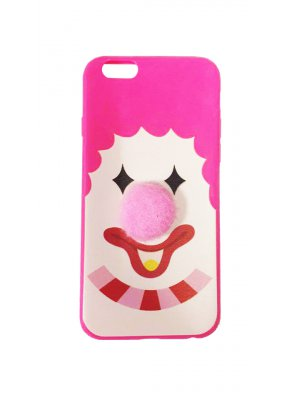 Coque Drole Clown Silicone pour Apple Iphone 6/6s