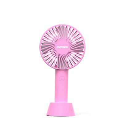 Ventilateur et haut parleur bluetooth - Rose