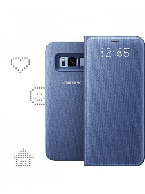 coque samsung led view s8