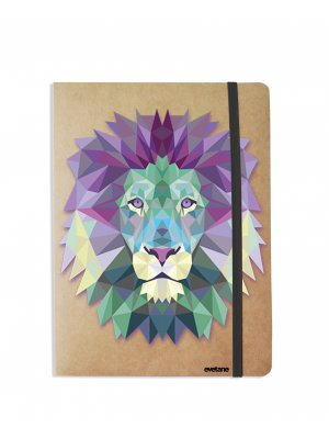Carnet Lion Pastelle