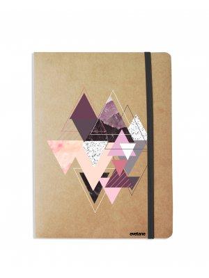 Carnet Triangles Design