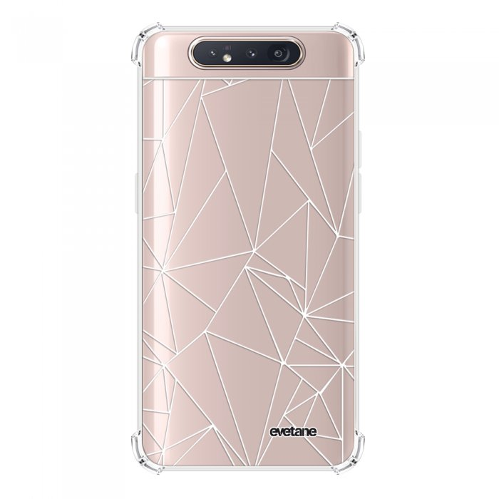 Coque Samsung Galaxy A80 anti-choc souple angles renforcés transparente Outline Evetane.
