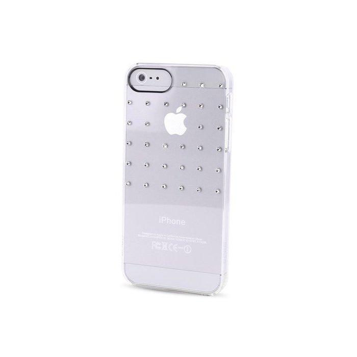 coque puro avec cristaux swarovski grid reseau iphone 5 5s