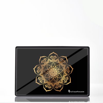 Enceinte bluetooth noire Mandala Or La Coque Francaise