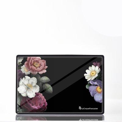 Enceinte bluetooth noire Fleurs roses La Coque Francaise