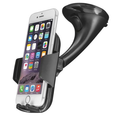 Support Voiture universel ventouse pour Smartphone Fixation Pare-brise / Tableau de Bord