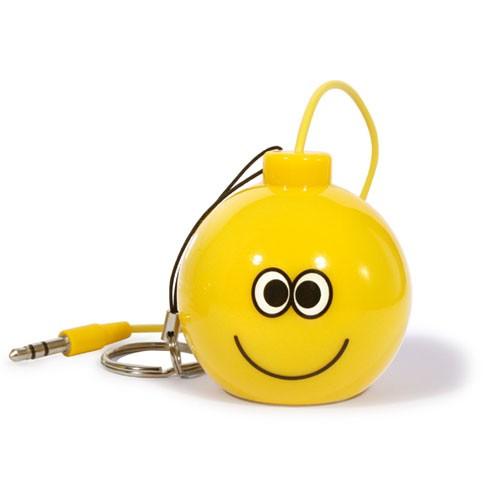 Puro Mini Enceinte Puro Jaune Jack 3 5 Smiley Joyeux Iphone Ipod Ipad