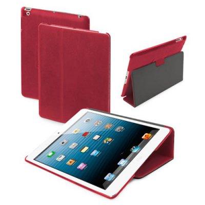 Etui repliable stand rouge pour iPad Mini