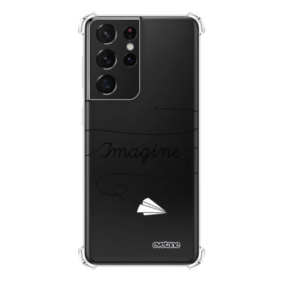 Coque Samsung Galaxy S21 Ultra 5G anti-choc souple angles renforcés transparente Imagine Evetane.