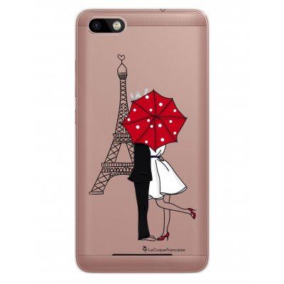 Coque rigide transparent Amour à Paris pour Lenny 3