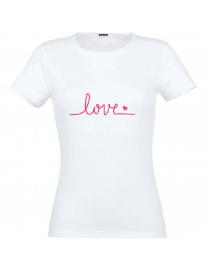 T-shirt Love Taille L