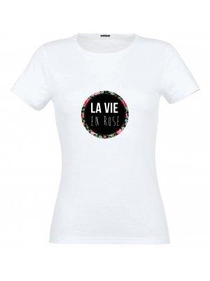 T-shirt La Vie en Rose Taille L