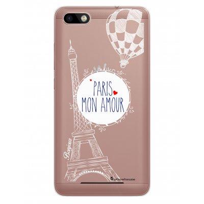 Coque rigide transparent Paris mon Amour pour Lenny 3