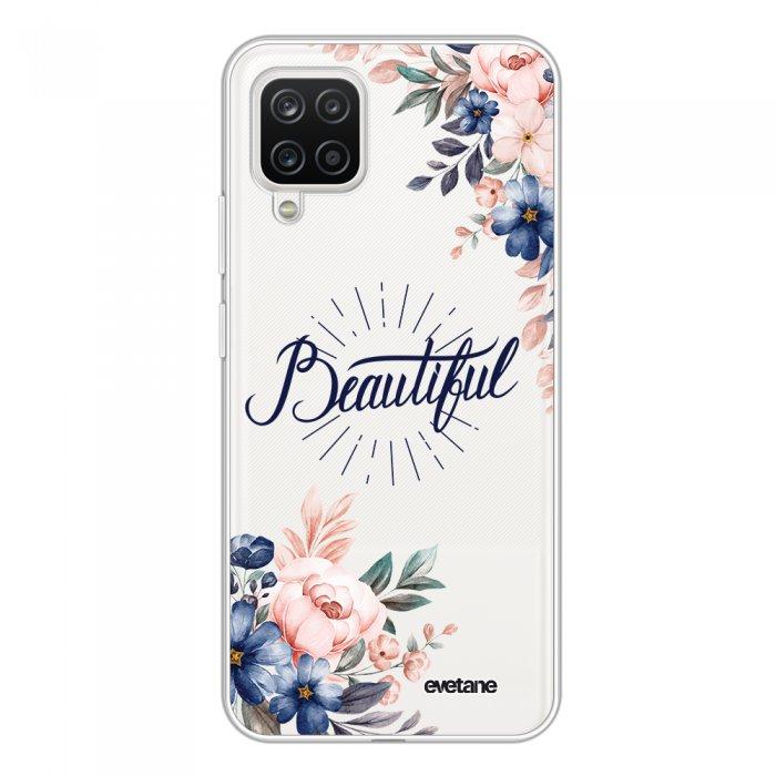 Coque Samsung Galaxy A12 360 intégrale transparente Beautiful Tendance Evetane.