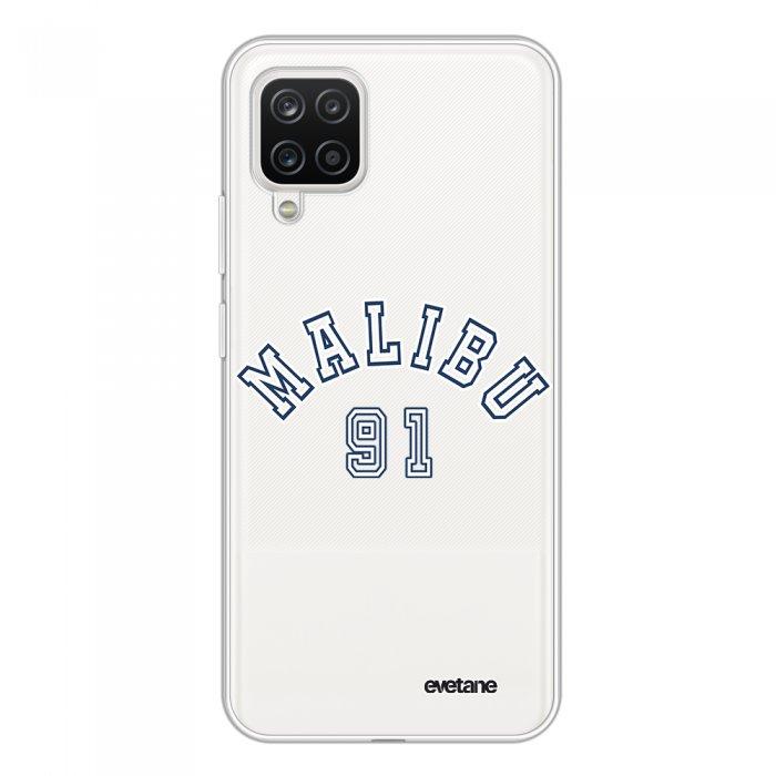 Coque Samsung Galaxy A12 360 intégrale transparente Malibu 91 Tendance Evetane.