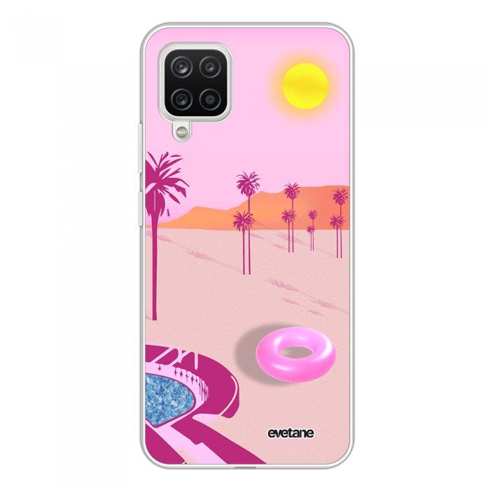 Coque Samsung Galaxy A12 360 intégrale transparente Desert Dream Tendance Evetane.