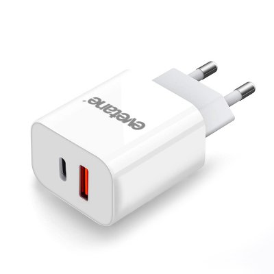 Chargeur Ultra rapide Double Port ( USB et USB-C) 20 W