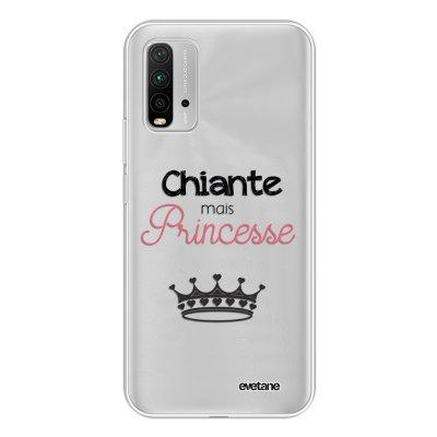Coque Xiaomi Redmi 9T 360 intégrale transparente Chiante mais princesse Tendance Evetane.