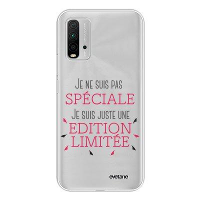 Coque Xiaomi Redmi 9T 360 intégrale transparente Spéciale édition limitée Tendance Evetane.