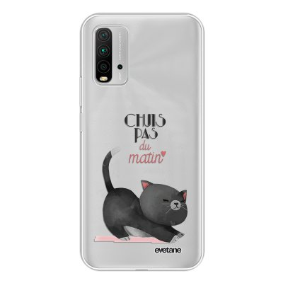 Coque Xiaomi Redmi 9T 360 intégrale transparente Chuis pas du matin Tendance Evetane.