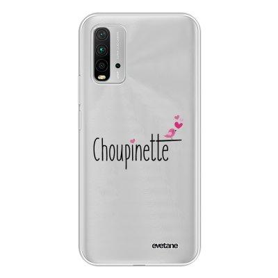 Coque Xiaomi Redmi 9T 360 intégrale transparente Choupinette Tendance Evetane.