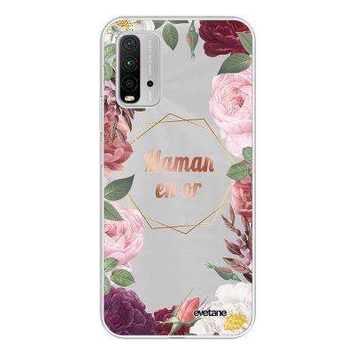 Coque Xiaomi Redmi 9T 360 intégrale transparente Coeur Maman D'amour Tendance Evetane.