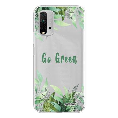 Coque Xiaomi Redmi 9T 360 intégrale transparente Go green Tendance Evetane.