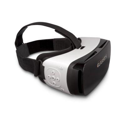 Casque de réalité virtuelle 3D + Options du lecteur de musique + Option réception des appels